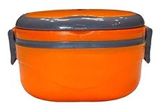 Trendy Premium Single Layer Tiffin -Orange (350 ml) Kitchen Storage Containers, Types Of Fashion Styles, Home And Living, Lunch Box, Layers, Orange, Kitchen Appliances, Layering, Diy Kitchen Appliances