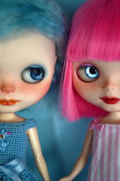 blue & pink by Art_emis, via Flickr
