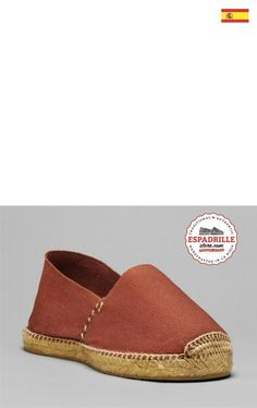 Espadrille- Espadrilles shoes. Ladies casual shoes. Made in Spain.