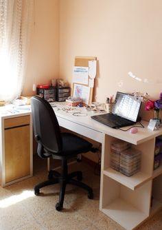 Dicope Blog craft room desk ikea micke