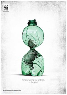 WWF India: Time is running out for them, not for plastic. Be a responsible tourist. Get involved today.