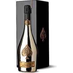 Celebrate Christmas in style with Armand de Brignac Ace of Spades Brut Gold NV http://www.selfridges.com/en/Food-Wine/Brand-rooms/Gourmet-brands/ARMAND-DE-BRIGNAC/Armand-de-Brignac-Brut-Gold-NV-750ml_414-1000225-BRIG002/