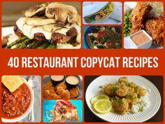 40 Restaurant Copycat Recipes