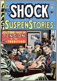 Crime Comics, Ec Comics, Creepy Comics, Horror Comics, Vintage Comics, Vintage Posters, Comic Book Covers, Comic Books, Tales From The Crypt