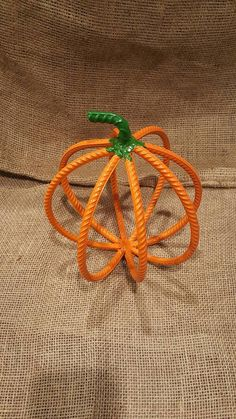 Rebar Pumpkin Horseshoe Pumpkin  Garden Art  by PronghornIronworks