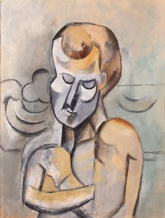 'Man with his Arms Crossed' (1909) by Pablo Picasso