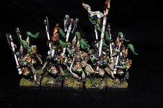 High elf army forest theme By: WSP