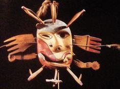 Masque_eskimo_alaska_ancienne_collection_andre_breton Rio Grande Do Norte, Anthropologie, Art Premier, Inuit Art, Pacific Northwest, North West, Arctic, Surrealism, Alaska