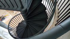 Wendeltreppe von oben gesehen von www.formstep.at Spiral Stair, Stairs, Spiral Staircase, Stairway, Staircases, Ladders