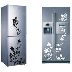 DIY 창조적 냉장고 스티커 나비 홈 장식 DIY 벽 스티커 아이 방 벽 스티커 아이 방 벽지