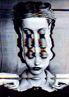 Glitch, collages and manipulated art Glitch Art, Glitch Kunst, Psychedelic Art, Images Pop Art, Bad Trip, Photocollage, Grafik Design, Trippy, Art Inspo