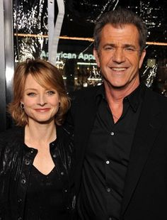 Jodie Foster and Mel Gibson at event of Hors de contrôle (2010)