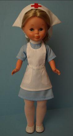 Vintage Nurse Doll