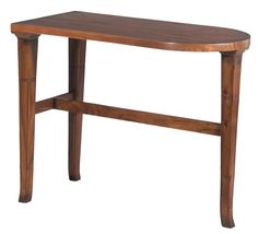 "Sarreid Whimsical Occasional Table 30141 | Solid Walnut,  Chestnut Finish | 30""w x 15""d x 24""h 