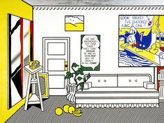 Arts Connected Appropriation Lesson [Artist's Studio No. 1 (Look Mickey), Roy Lichtenstein]