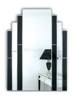 Classic Original Handcrafted Art Deco Wall Mirror