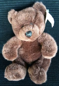 Vintage Plush Brown Teddy Bear Mary Myer Townshend Mall of America 1997 Stuffed #MaryMeyer
