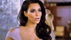 Kim Kardashian Femme Fatale Look