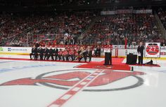 Scott Niedermayer back on the Devils' ice.