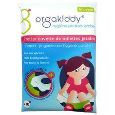Protège cuvette de toilettes jetable - Lot de 10