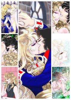 Old Anime, Anime Manga, Lady Oscar, A Series Of Unfortunate Events, Animation, Anime Fantasy, Manga Comics, Anime Love, Black And White Photography