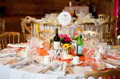 A Bright, Bold and Colourful Barn Wedding...