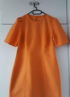 Kup mój przedmiot na #vintedpl http://www.vinted.pl/damska-odziez/krotkie-sukienki/16447273-pomaranczowa-sukienka-minimalizm-unikatowa-elegancka