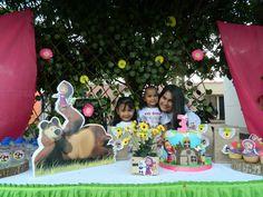 Birthday Cake, Desserts, Food, Masha And The Bear, Tailgate Desserts, Birthday Cakes, Deserts, Eten, Postres
