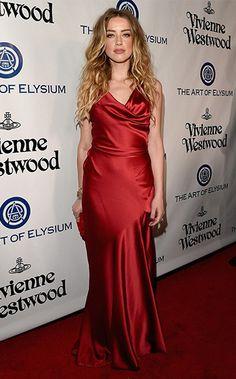 8b8e20324c9 Amber Heard Photos - The Art of Elysium Presents Vivienne Westwood    Andreas Kronthaler s 2016 HEAVEN Gala - Red Carpet - Zimbio · Silk GownSatin  ...