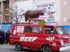 The beef wagon, from whoiskennyhoward on flickr