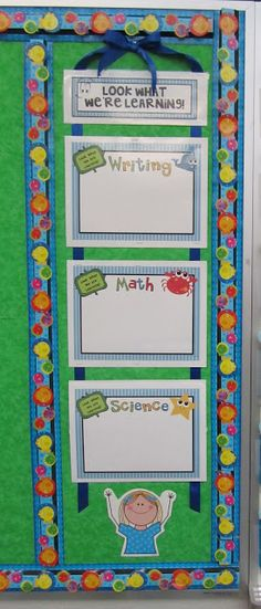 O FISH ally a First Grader: Learning Target or Common Core Posters