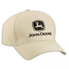 John Deere Khaki Value Cap | RunGreen.com