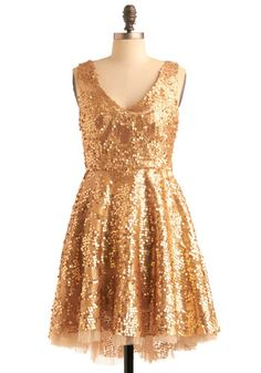 Bridesmaid dress? Sparkly