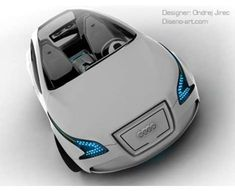 Hybrid Audi concept car.
