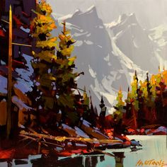 Michael O'Toole: Moraine Lake - Touch of Grey