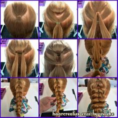 Many Tails One Hairstyle | Makeup Mania