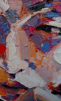 thomasdonaldsonart:detail study, oil on canvas