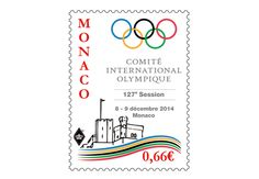 COLLECTORZPEDIA The 127th International Olympic Committee Session in Monaco Monaco, Olympic Committee, First Day Covers, Bullet Journal, Gravure, My Favorite Things, Stamps, Drawing Drawing, Seals
