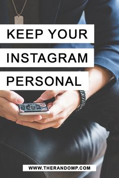 Why I don't use Instagram for my business: explanation why other social media are better for this goal http://therandomp.com/blog/why-i-dont-use-instagram-for-my-branding-freelancing
