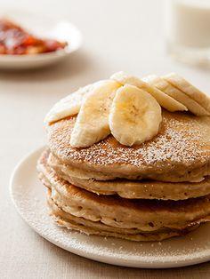 Banana Pancakes on Clabbergirl.com.