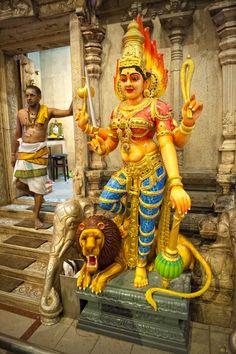 Sri Veeramakaliamman Temple   by Mark Broadhead  Asia