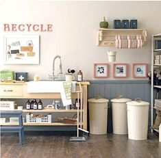 Looking for ways to update your utility room on a budget? Check out these storage solutions and utility room decorating ideas for inspiration Bekvam Stool, Ikea Bekvam, Ikea Varde, Utility Room Storage, Utility Sink, Utility Room Designs, 25 Beautiful Homes, Laundry Room Design, Room Pictures