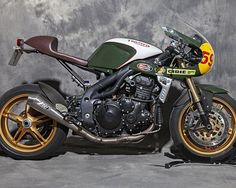 Triumph Speed Triple Cafe Racer – XTR Pepo