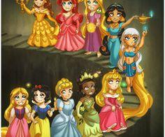 Your fav Disney's Princess by *daekazu on deviantART