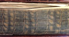 Marbled fore edges on Grundlehren der Naturwissenschaft, 1747 Decorative Paper, Old Books, Painting Edges, Edge Design, Paper Decorations, History, Fire, Libros, Physical Science