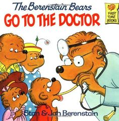 The Berenstain Bears Go to the Doctor (First Time Books) ... http://www.amazon.com/dp/0394848357/ref=cm_sw_r_pi_dp_rNmnxb0E7BA9E