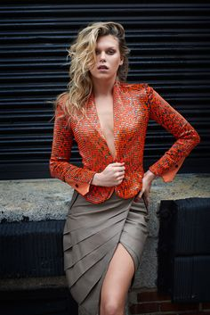 ★ Rock 'n' Roll Style ★ Alexandra Richards for S Moda January 2013   via StonesPleaseDontStop