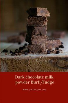 Horlicks burfi / fudge recipe - Sweet - Pavithra from Dice n Cook Quick Fudge Recipe, Fudge Recipes, My Recipes, Chocolate Milk Powder, Horlicks, Powdered Milk, Chocolate Flavors, Dice, Tray Bakes