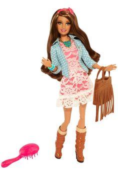 Mattel Barbie Style Teresa Doll for sale online Mattel Barbie, Barbie 2014, Barbie And Ken, Barbie Fashionista, Barbie Style, Ken Doll, Poupées Barbie Collector, Ri Happy, Barbie Website