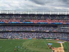 New York Redbulls supporters away at New York City FC #mls #nyrb #rbny #awaydays #BenBaer89
